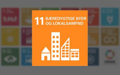 Verdensmål 11 Bæredygtige byer og samfund