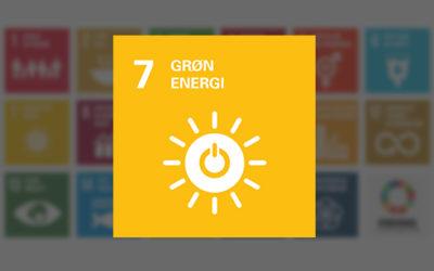 Verdensmål 7 Bæredygtig energi