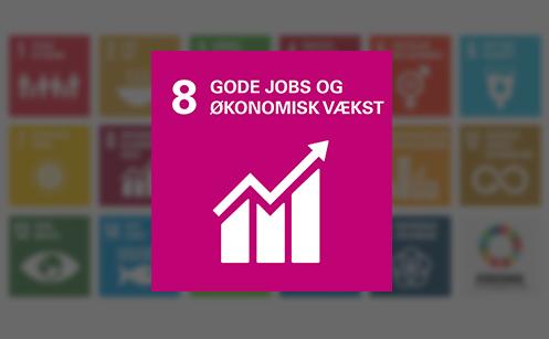 Verdensmål 8 Anstændige jobs og økonomi